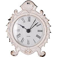 NIKKY HOME Relojes de Escritorio Flor