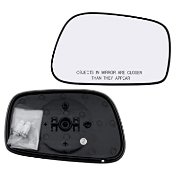 Front,Right Passenger Side DOOR MIRROR PLATE Fit For Toyota Matrix,Corolla New