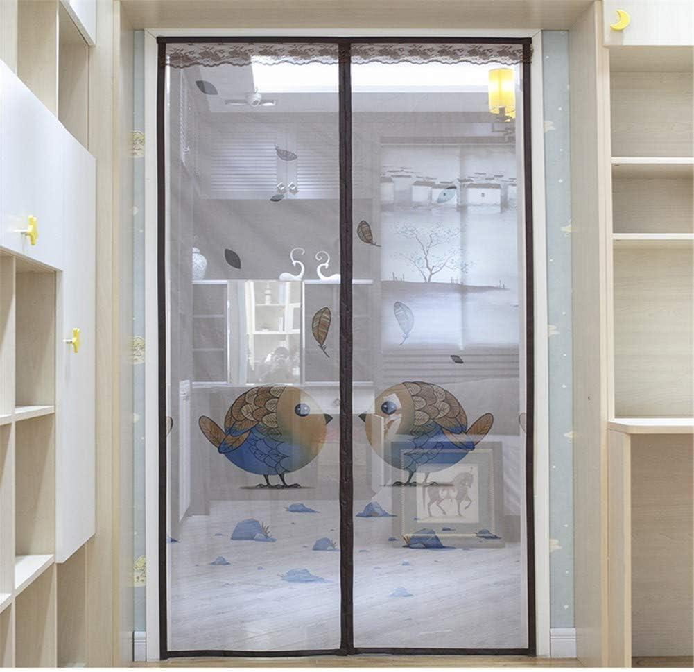LANDP Mosquitera para Puertas Velcro Diseño silencioso Ventana de Pantalla A Prueba de Polvo mosquitera para Puertas Malla encriptada Lavable Ventilación Control de plagas: Amazon.es: Hogar