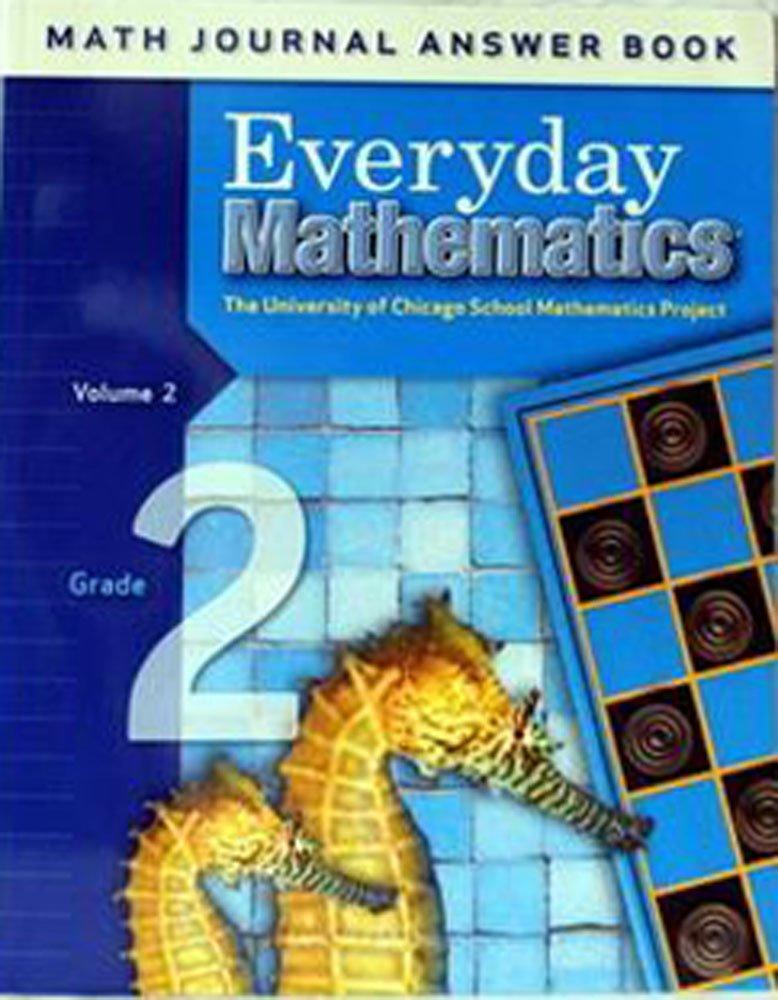 Everyday Mathematics Math Journal Answer Book Grade 2