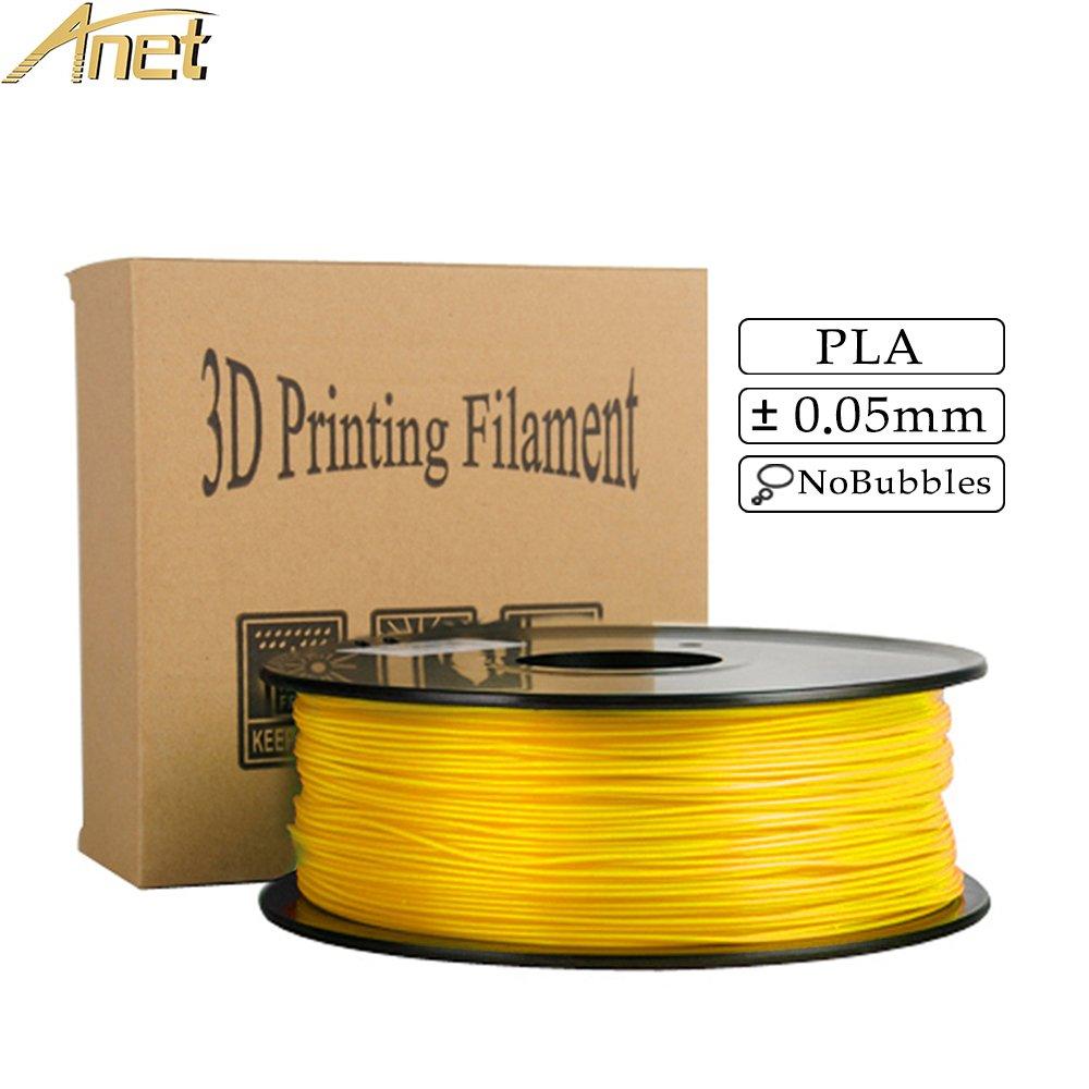 Anet Pla 3d impresora filamento 1,75 mm, Dimensional precisión +/- ...
