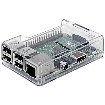 Ogquaton - Carcasa Transparente Quad Core/Pi 2 Modelo B ...