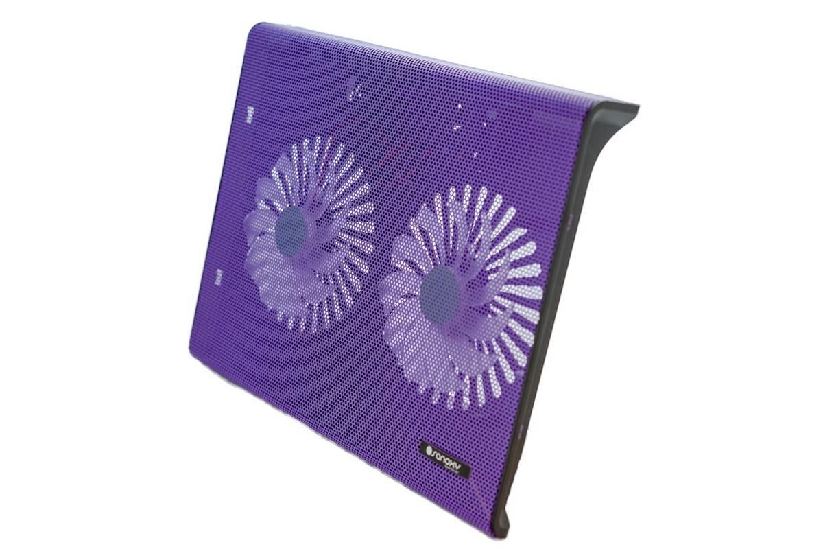 Sanoxy USB Laptop Notebook Cooling Pad 2 Medium Fan for your Apple MacBook Pro, Notebooks, Laptops, Purple (SANOXY-LT-2COL-PPL)