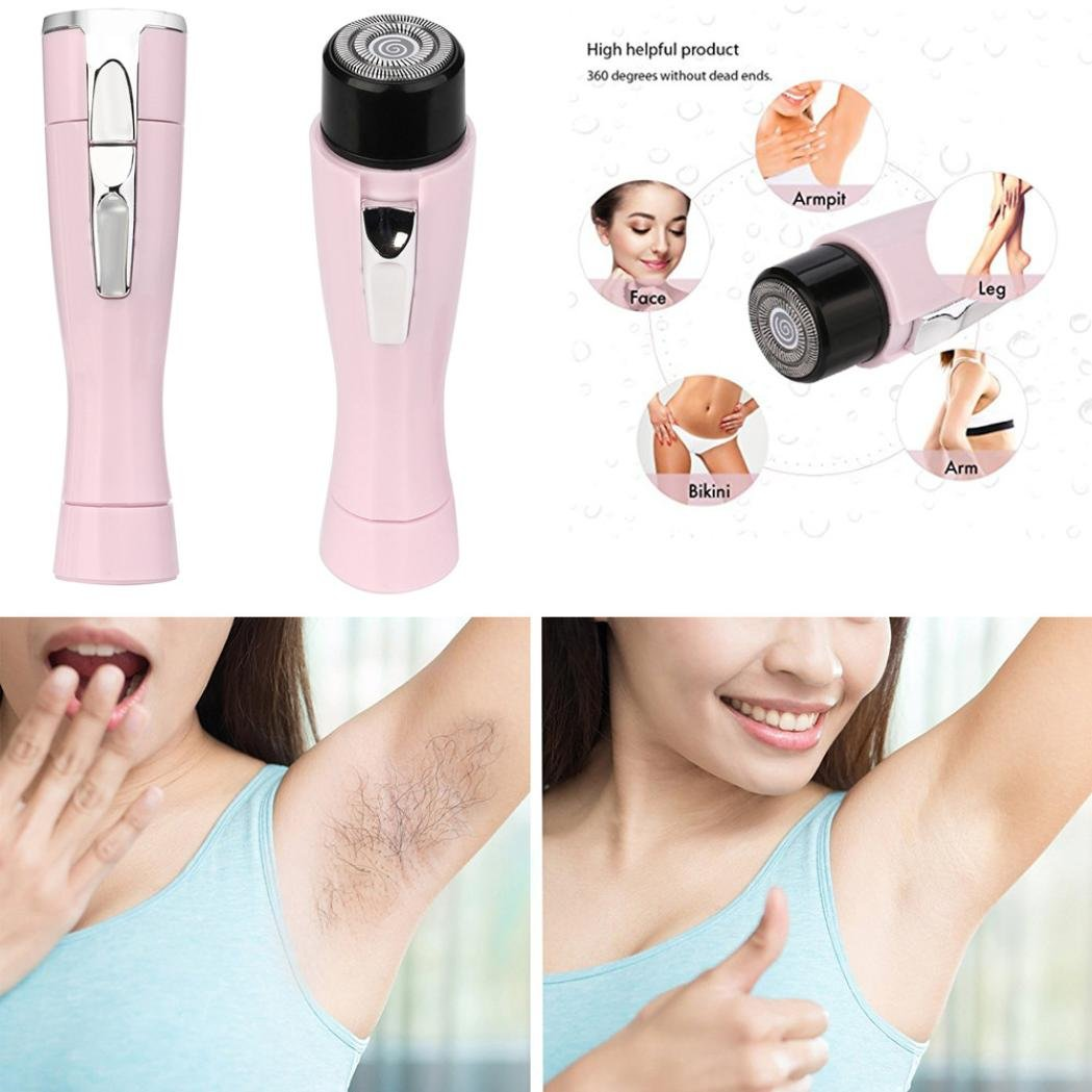 Amazon.com: Sunfei Electric Epilator Mini Lady Armpit Hair Shaver Travel Bikini Hair Removal Device: Musical Instruments