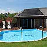 in ground pool solar heater - Swimming Pool Solar Panel Heating Water For Above Ground In-ground Roof Heater