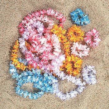 Lei Mini (Mini Leis Assorted Colors (1 ct))