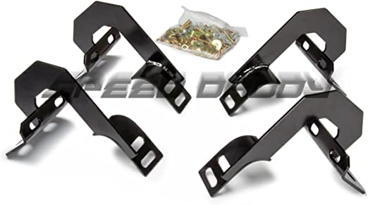 Chrome 5 inches Oval Step Bar For Ford F-150 11th Gen Crew Cab Exterior Body Kit