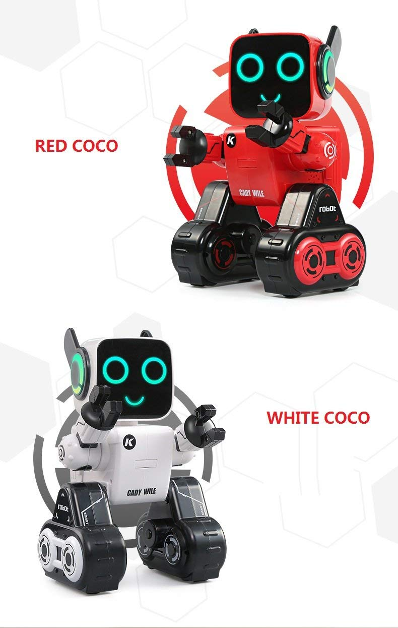 Hi-Tech Wireless Interactive Robot RC Robot Toy for Boys, Girls, Kids, Children (Red) by HI-TECH OPTOELETRONICS CO., LTD. (Image #8)