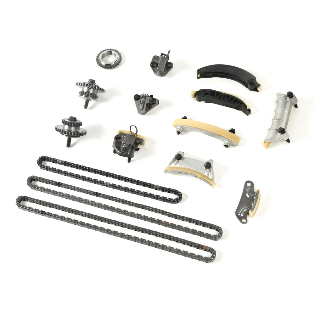 MOCA Timing Chain Kit for 2006-2017 Cadillac SRX STS CTS /& Pontiac G6 G8 /& Saturn Outlook VUE /& Buick Enclave Suzuki GMC Chevrolet 3.6L V6 DOHC 24 B284 N36A