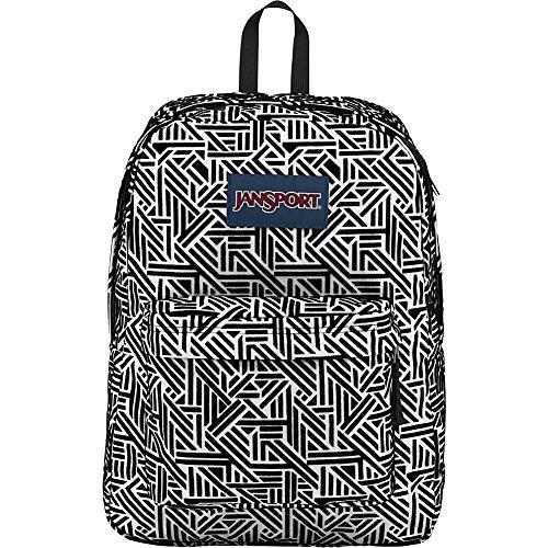 JanSport High Stakes Backpack (White Geo Flock) - Buy Online in Oman ... eebb6d55b948f