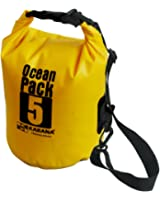 Karana Ocean Dry Pack Day Waterproof Travel Kayak Bag 5 Litre 5L Yellow