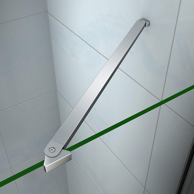 Barra Estabilizadora Asidero bieleta para mampara de ducha cabina Walk In duschwand ducha Varios tipos 30 – 120 cm: Amazon.es: Bricolaje y herramientas