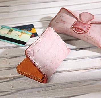 Modyl Geldbörse Handgefertigte Leder Cowhide Karte Tasche