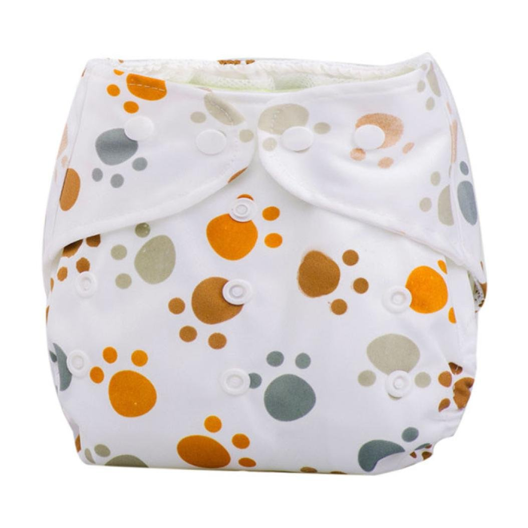 Pa/ñales Beb/é reci/én nacido Pa/ño de verano lavable reutilizable ajustable F