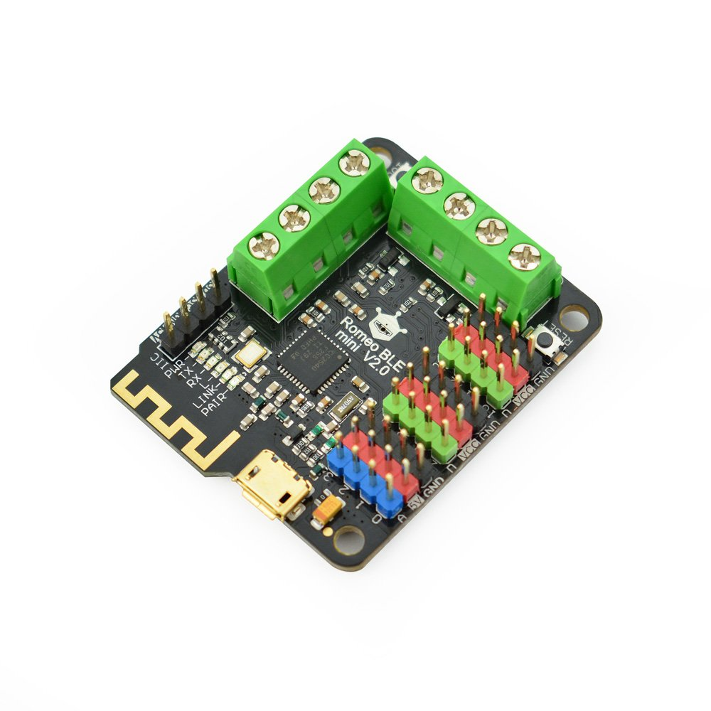 DFRobot Romeo BLE Mini - Small Arduino Robot Control Board with Bluetooth 4.0 and Motor Driver