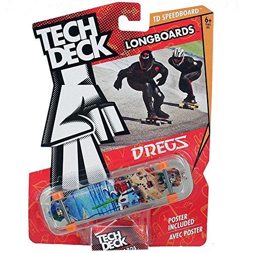 Tech Deck TD Speedboard Longboards Dregs Fingerboard Skateboard 120MM