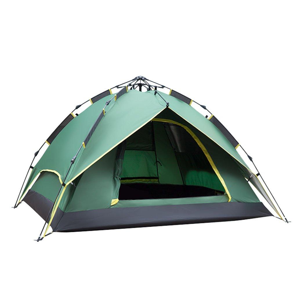 テント、アウトドア2人3-4人キャンプ用防雨家庭用自動盛りテント ( 色 : 2 )   B07CNMRDWL