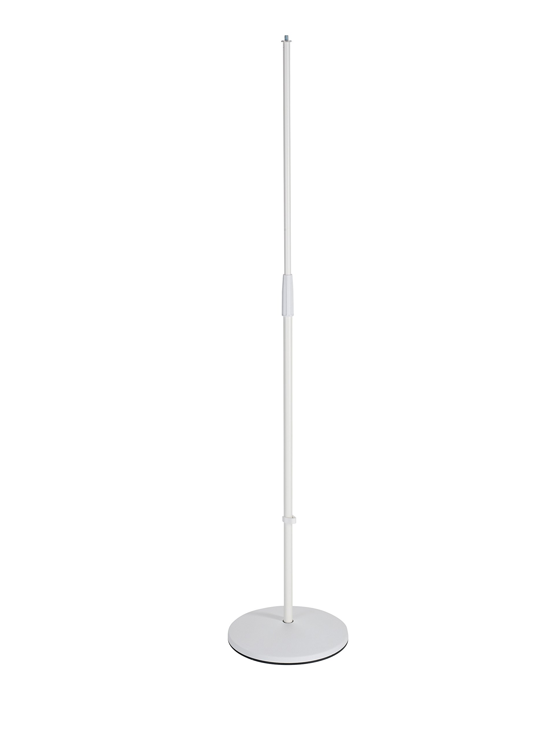 K&M Stands 26010-500-76 Microphone Stand with 26125 Base, White