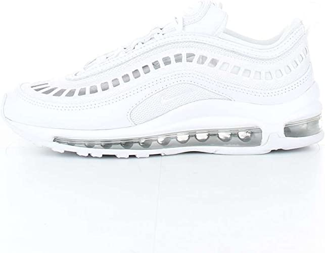 wearing nike air max 97 white womens