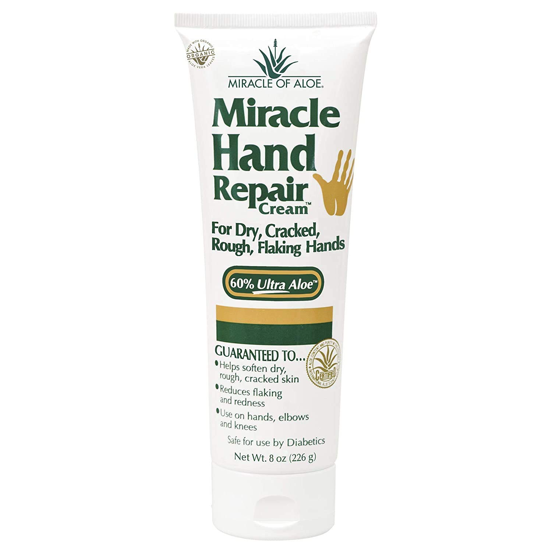 Miracle Hand Repair Cream 8 ounce tube with 60% UltraAloe