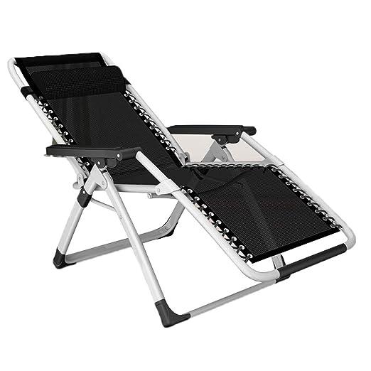 Silla plegable de gravedad cero reclinable Salón con reposacabezas ...