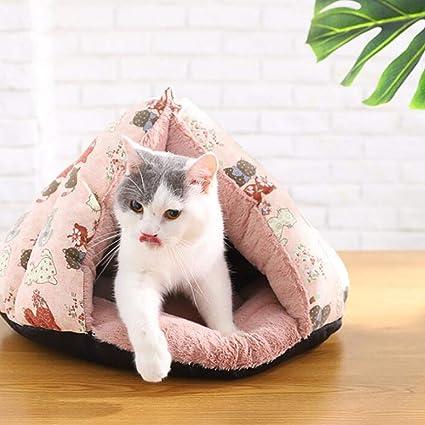 MIAO 2018 Gato/Perro Cama Casa Mascota Mascota Saco De Dormir Mascota,Greens: Amazon.es: Productos para mascotas