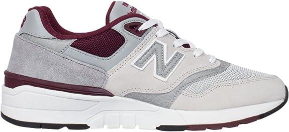 597 new balance cuir blanc