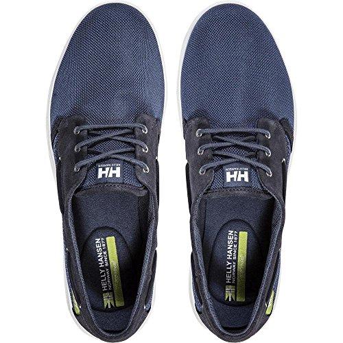 Indigo Helly Hansen 701 Lillesand Vintage Blu Graphite Uomo Mocassini rxYx1nwzZ