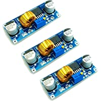 HiLetgo 3pcs XL4015 DC-DC Buck Converter Step Down Module 4~38V to 1.25-36V 5A DC-DC Adjustable Step-down Module XL4015…