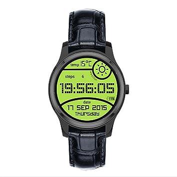 Garyesh Pantalla Anti-huella Digital Bluetooth Pantalla Táctil Reloj Inteligente Impermeable para iOS/Android (Negro): Amazon.es: Deportes y aire libre