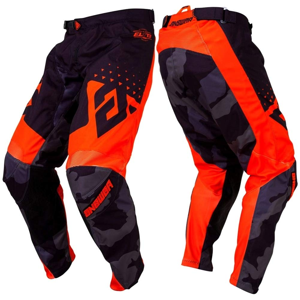 Answer Racing A18.5 Syncron Air Mens Off-Road Motorcycle Pants White//Red 32