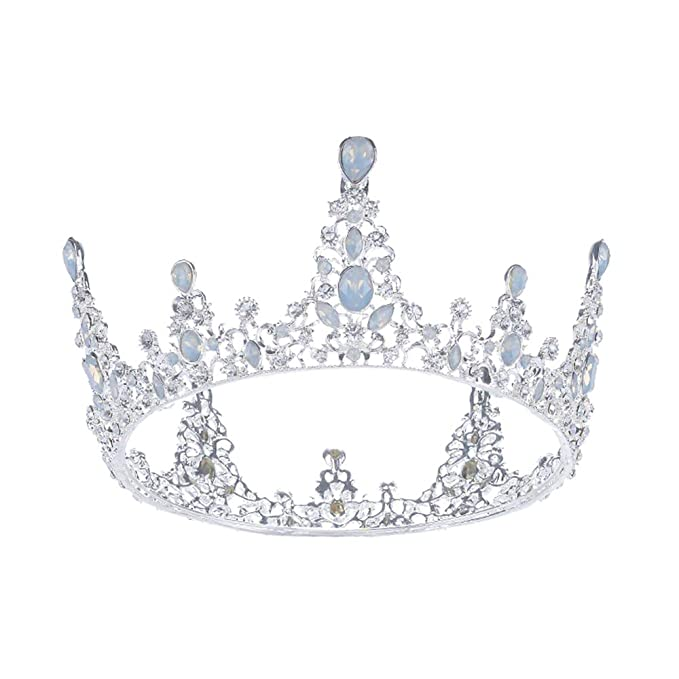 Bridal Crown Baroque Crystal Rhinestone Wedding Tiara Headband Head Wear MP