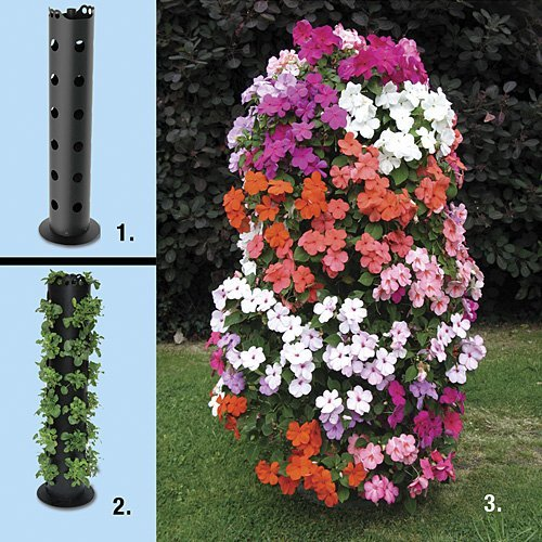 Flower Tower™ Freestanding Planter by Flower Tower