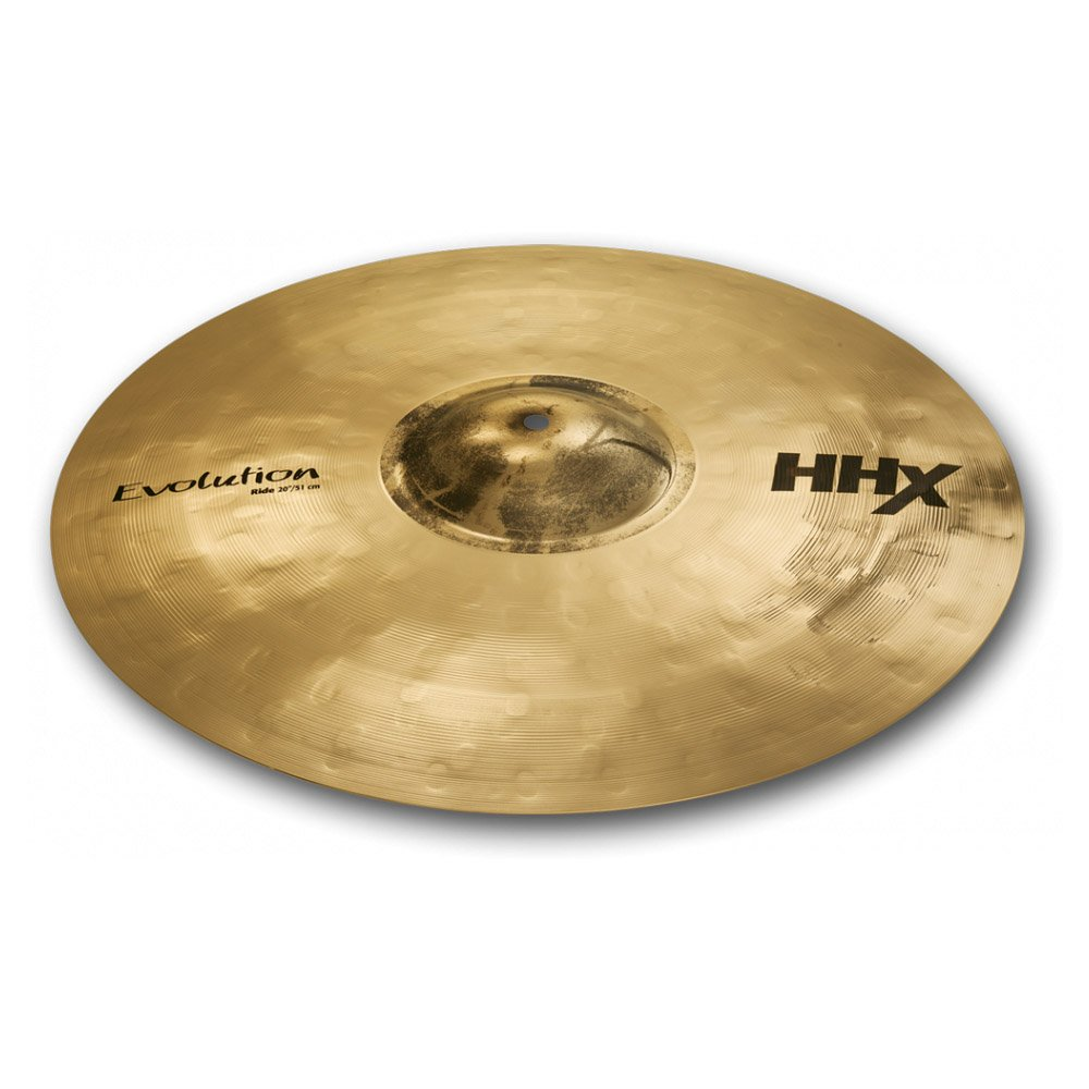 Sabian 20-Inch HHX Evolution Ride Brilliant Finish Cymbal