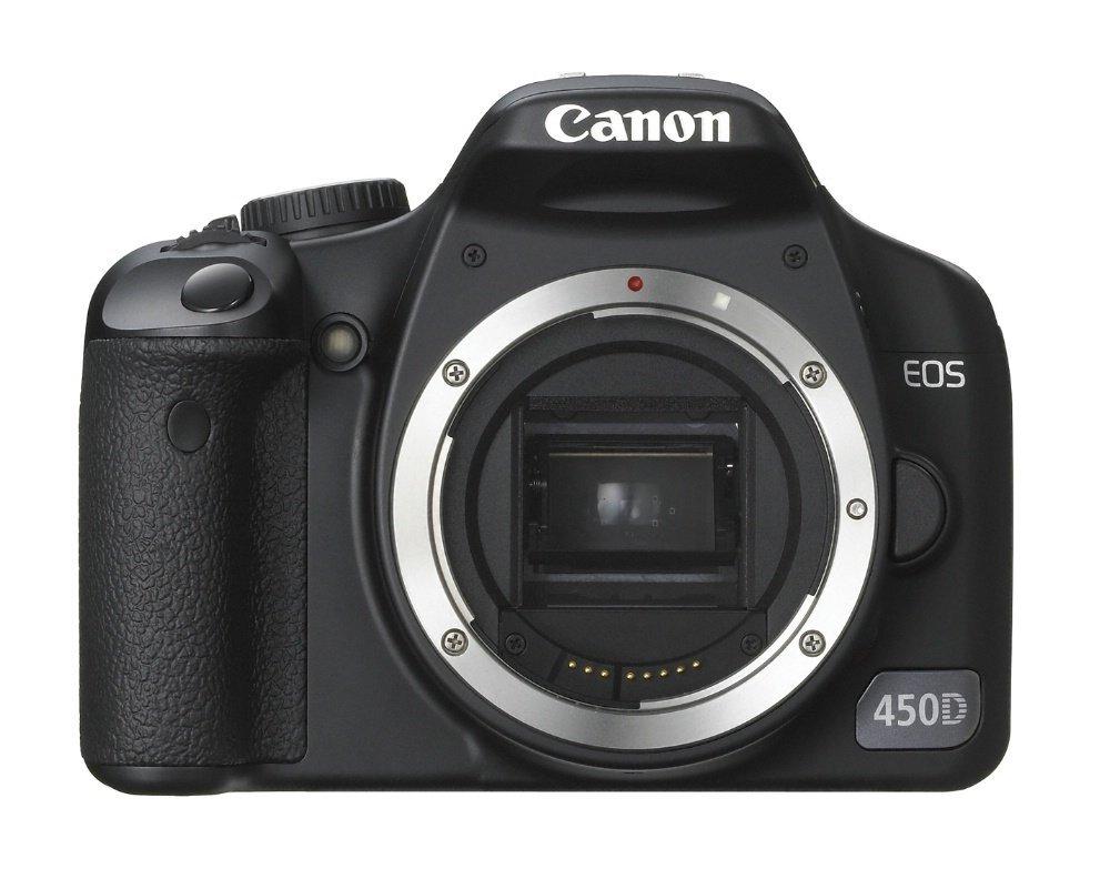 Canon EOS 450D - Cámara Réflex Digital 12.2 MP (Cuerpo ...