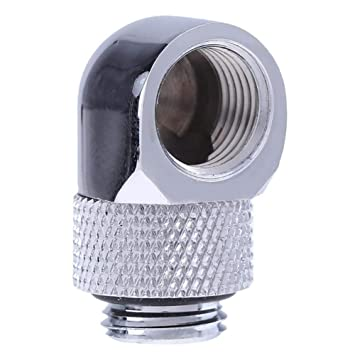G1//4 Thread Soft Tube Fitting Connector Adapter for PC Water Cooling SysteHFVV