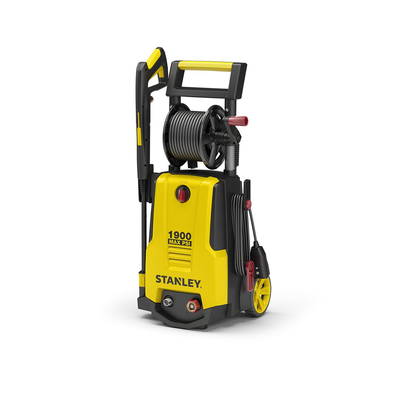Stanley SHP1900 Electric Power Washer, Medium Yellow