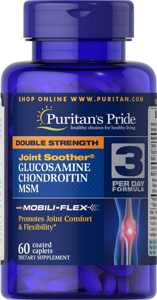 Amazon.com: Puritan s Pride doble fuerza conjunta Chupete ...