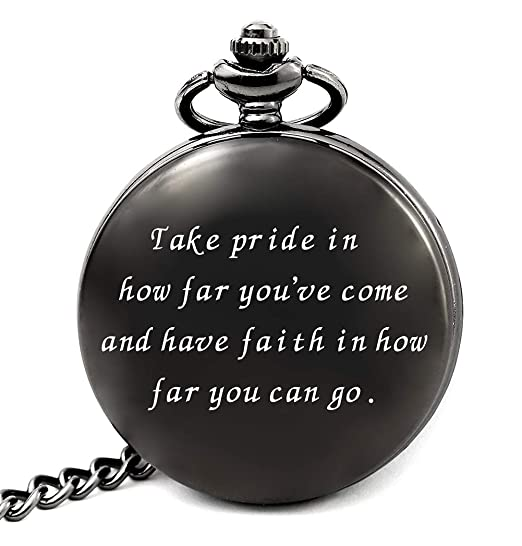 Christmas Gifts For College Students 2019.College Graduation Gifts For Him 2019 Graduation Party Supplies Decorations Engraved Pocket Watch For Graduates