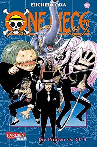 One Piece, Band 42: Die Piraten vs. CP 9 Taschenbuch – 22. Februar 2007 Eiichiro Oda Carlsen 3551758123 Belletristik