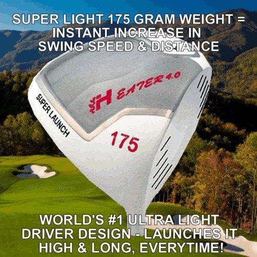# 1ヒーターゴースト175 Gram Ultra LightゴルフドライバーヘッドIllegal non-conforming比較TaylorMade B01NAUX7P8  9.5