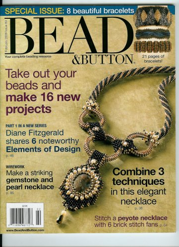 Bead & Button, February 2009 Special Issue 89 (Single Issue Magazine - 2009) (2009 Magazine)