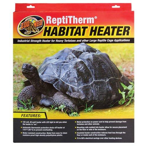 - Zoo Med Laboratories SZMRH20 40-Watt Repti Therm Habitat Heater