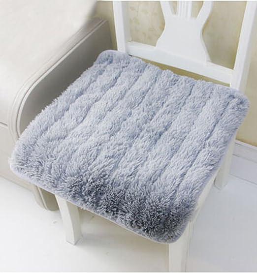 Cálido Cojín para asiento, lujo suave Plush Mullido cojín de ...