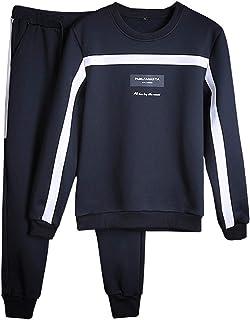 Little Happiness- Men Casual Sets Autumn Tracksuit Male Sweatshirt Long Sleeve Pants Letter Casual Sportswear Suits