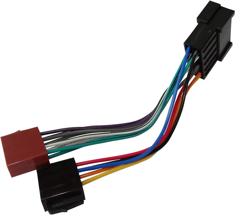 AERZETIX: Adaptador Cable Enchufe ISO E8 para autoradio C1774