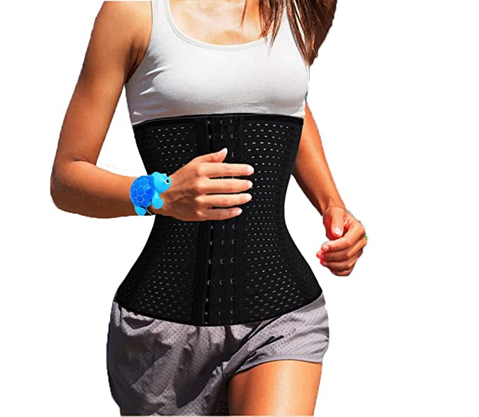 e9e5ece0c9d Image Unavailable. Image not available for. Color  DODOING DDA Running Gym  Waist Cincher Trainer Shaper Corset Belt Weight Loss ...