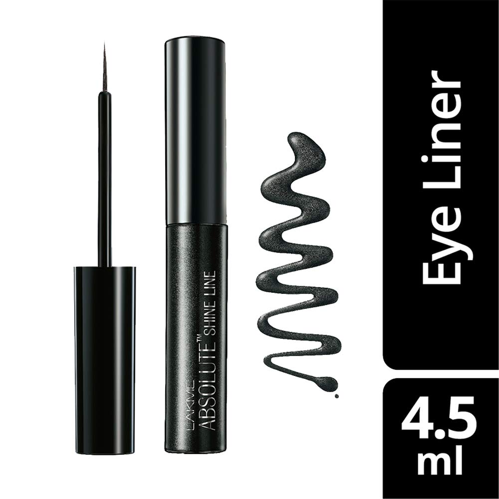 Lakme Absolute Shine Liquid Eye Liner, Black