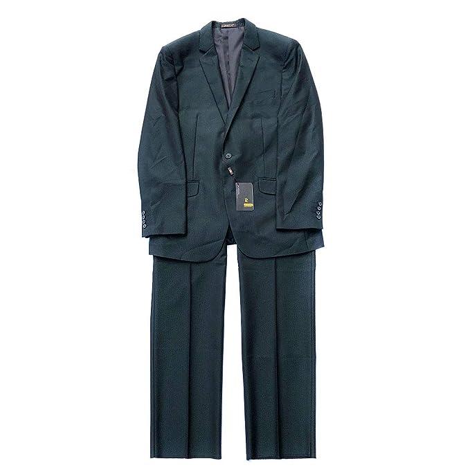 Amazon.com: Traje de hombre con un solo botón, color verde ...
