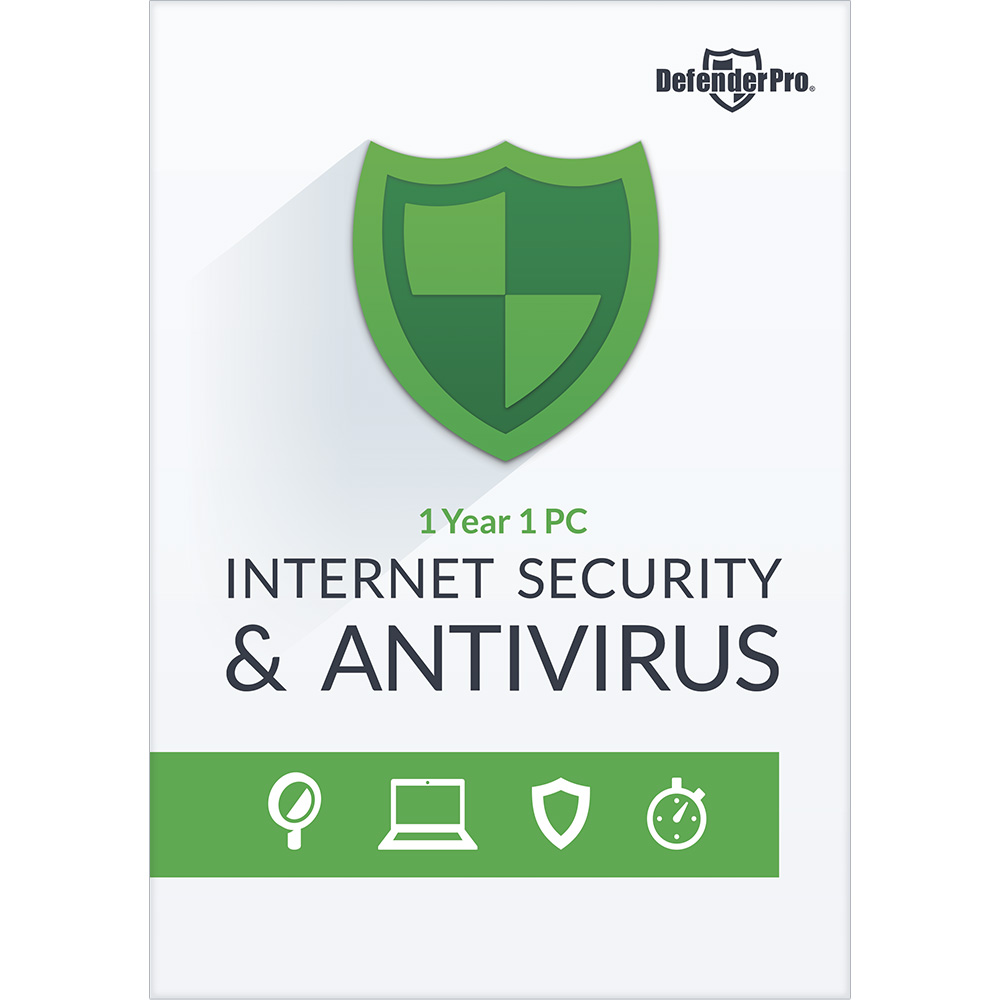 Defender Pro Internet Security   Antivirus 1 Yr 1 Pc  Download